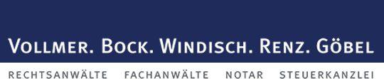 Logo Vollmer Bock Windisch Renz Göbel - Kanzlei VBWR Mainz Rechtsanwälte Fachanwälte Notar Steuerkanzlei